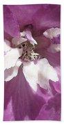 Delphinium Named Magic Fountains Lilac Pink Bath Towel