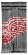 Detroit Red Wings Bath Towel