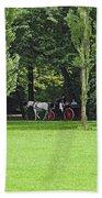 English Garden Munich Germany Bath Towel