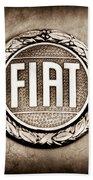 Fiat Emblem Bath Towel