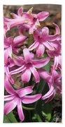 Hyacinth Named Pink Pearl Bath Towel