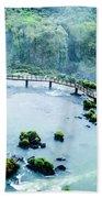 Iguassu Falls In Brazil Bath Towel