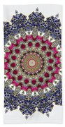 Kaleidoscope Colorful Jeweled Rhinestones Bath Towel