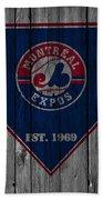 Montreal Expos Bath Towel