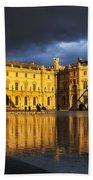 Musee Du Louvre Bath Towel