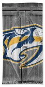 Nashville Predators Bath Towel