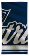 New England Patriots Uniform Bath Towel