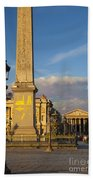 Place De La Concorde Bath Towel