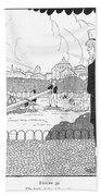 Rene Laennec (1781-1826) Bath Towel