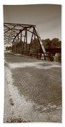 Route 66 - One Lane Bridge Bath Towel