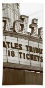 Terre Haute - Indiana Theater Bath Towel