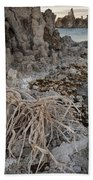 Tufa Formations, Mono Lake, Ca Bath Towel