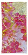 Together Again Watercolor Photography Bath Towel