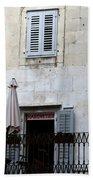 Views Of Split Croatia Bath Towel
