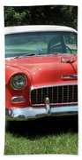 55 Chevy Bath Towel