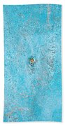 Blue Wood Bath Towel