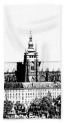 Cathedral Of St Vitus Hand Towel