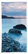 Blue Crete. Bath Towel