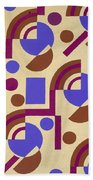 Design From Nouvelles Compositions Decoratives Hand Towel