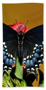 Eastern Black Swallowtail Bath Towel