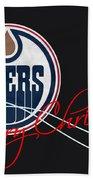 Edmonton Oilers Bath Towel