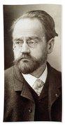 Emile Zola (1840-1902) Bath Towel