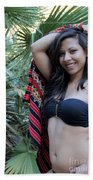 Hispanic Beauty Bath Towel