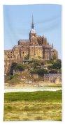 Mont Saint-michel - Normandy Bath Towel