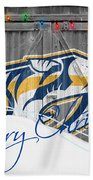Nashville Predators Bath Towel