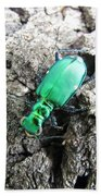 6 Spotted Tiger Beetle Bath Towel
