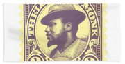 Thelonious Monk -  The Unique Thelonious Monk Bath Towel