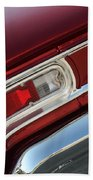67 Malibu Chevelle Tail Light-0060 Bath Towel
