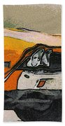 68 Chevelle Abstract Bath Towel