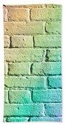 Brick Wall Bath Towel