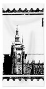 Cathedral Of St Vitus Bath Towel