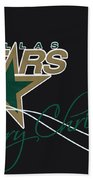 Dallas Stars Bath Towel