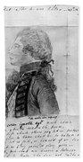 James Wolfe (1727-1759) Hand Towel