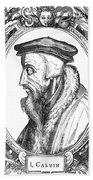 John Calvin (1509-1564) Hand Towel