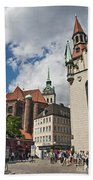 Munich Germany Bath Towel