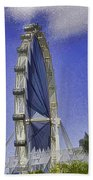 Singapore Flyer  Bath Towel