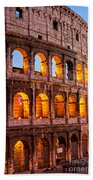 The Majestic Coliseum - Rome Hand Towel