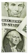 Time Is Money Bath Towel