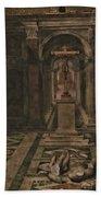 Vatican Art Bath Towel