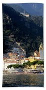 Views From The Amalfi Coast In Italy Bath Towel