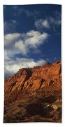 clearing storm waterpocket fold capitol reef NP Bath Towel