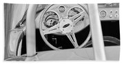 1959 Devin Ss Steering Wheel Bath Towel