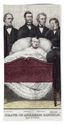 Death Of Lincoln, 1865 Hand Towel