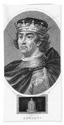Edward I (1239-1307) Bath Towel