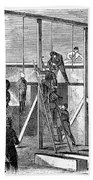 Execution Of Conspirators Bath Towel