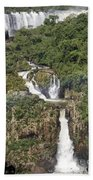 Iquazu Falls - South America Bath Towel